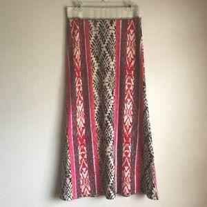 Vanessa Virginia Sweater Knit Maxi Skirt